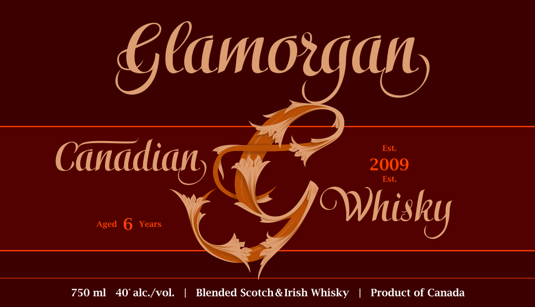 Glamorgan-label